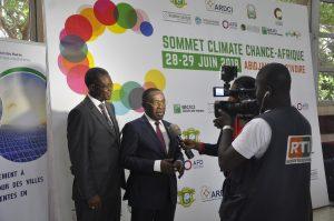 Le reportage de la chaîne Radiodiffusion télévision ivoirienne