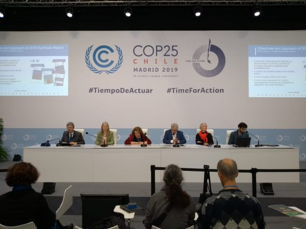 11.12.19 Press conference 2019 Synthesis report on non-state climate action
