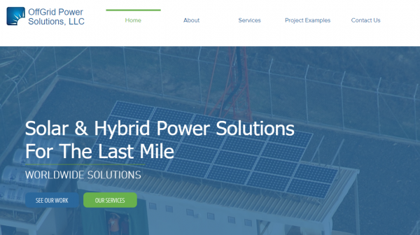 Integrated Off-Gird power solutions company Ltd.