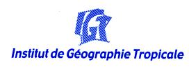 Institut de géographie Tropicale