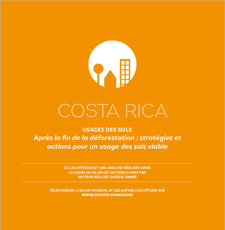 Costa Rica - usages des sols cas d'étude