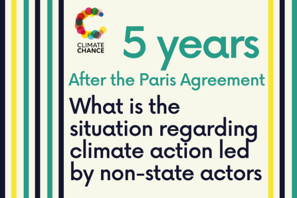 5 years after COP21, what is the situation regarding climate action led by non-state actors ?