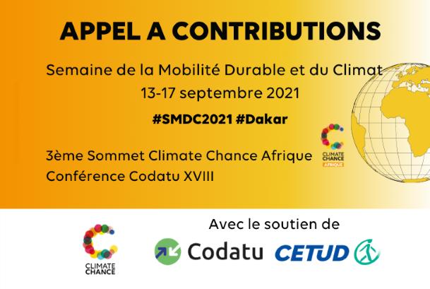 appel à contributions SMDC Climate Chance