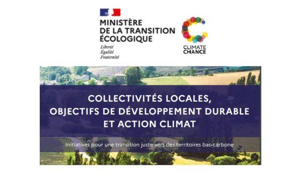 Publication Ministère de la transition écologique-Climate Chance
