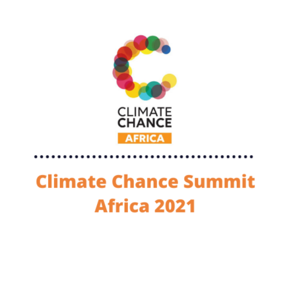 Registrations open – Climate Chance Summit 🌍 Africa 2021