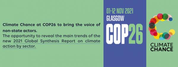 Climate Chance à la COP26 de Glasgow